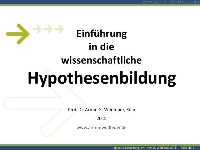 Hypothesenbildung master thesis controlling themen